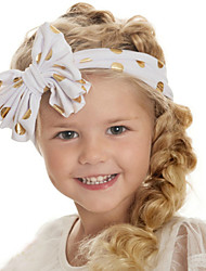 Kid's Lovely Cotton Bowknot Dots Headband(0-4Years Old)