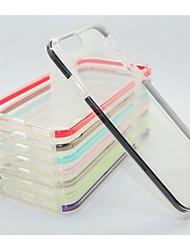 couleur double PTC + pc retour cas pour iPhone6&6s (couleurs assorties)