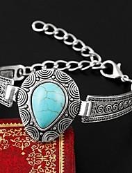 Bracelet Charmes pour Bracelets / Bracelets Rigides Imitation de perle / Turquoise Mariage / Soirée / Quotidien / Décontracté Bijoux