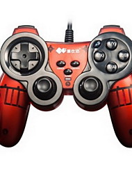 PXN®-2901 Dual Shock Rechargeable Wired Game Controller And Adapters Attachments for PC / X360