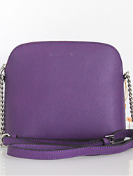 Women Cowhide Doctor Tote - White / Purple / Red