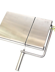 Cheese and Butter Slicer Plate, Stainless Steel Breakfast Bread Cheese Tool Stainless Steel