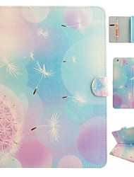 Angel Dandelion Coloured Drawing or Pattern PU Leather Folio Case Tablet Holster for iPad Air2 iPad Air