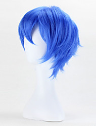 Fashion Wigs Straight Top Quality Bule Color Cosplay Wigs