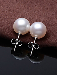 Earring Stud Earrings Jewelry Women Wedding / Party / Daily / Casual / Sports Imitation Pearl 1set White