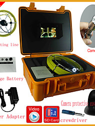 Pipe Inspection Camera  Drain Pipe Wall Inspection System Underwater Monitor with DVR feature30M
