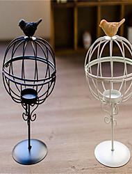 ornamentos vela lanterna de ferro europeu gaiola de metal vela do casamento