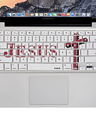 XSKN Jesus Cross Designed Silicon Laptop Keyboard Skin Cover for Macbook Air/Macbook Pro 13 15 17 inch, US Layout