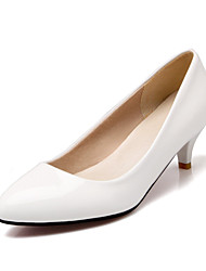 Women's Shoes Heel Heels / Pointed Toe Heels Office & Career / Dress / Casual Black / Red / White / Gold / Burgundy