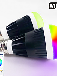 inteligente app telefone de controle wi-fi RGB LED e lâmpada branca quente