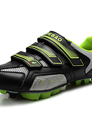 Z.SUO Unisex Cycling Sneakers Spring/ Summer/Autumn /Winter Damping/ Cushioning / Impact/Breathability Shoes Green