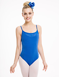 Cotton/Lycra Camisole Leotards with Mesh Front and Back More Colors  for Girls and Ladies