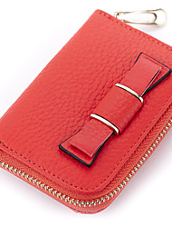 Women Cowhide Formal / Sports / Casual / Event/Party / Outdoor Card & ID Holder / Coin Purse / Business Card Holder