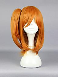 Gosurori / Amaloli 48CM Mediano Naranja Lolita peluca
