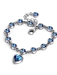 Korea Style Magic Imitation Bracelet Fashion Heart Crystal Bracelets & Bangles for Women