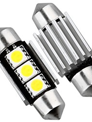2 x CAN-Bus kein Fehler 3 SMD LED Innen Lampe Licht 36mm