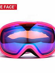 2016 gafas de esquí niceface grandes gafas de motocross esféricas hombres gafas de esquí snowboard de las mujeres deportivas gafas de