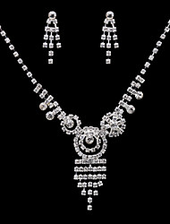 Ensemble de bijoux Zircon Zircon / Alliage Femme