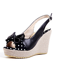 Women's Shoes Heel Wedges / Heels / Peep Toe / Platform Sandals / Heels Outdoor / Dress / CasualBlack / A-31