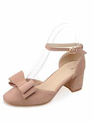 Women's Shoes Customized Materials Stiletto Heel Heels / Gladiator / Basic Pump / Comfort / Novelty / Closed Toe Heels