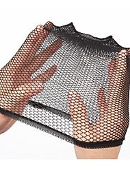 casquillo de la peluca estirable elástica de moda las redes de nylon peluca casquillo 1 pieza de las mujeres negras