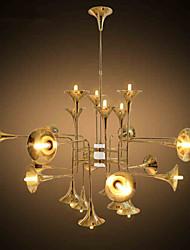 5 Lámparas Araña ,  Tiffany / Campestre Galvanizado Característica for Mini Estilo MetalSala de estar / Dormitorio / Comedor / Habitación