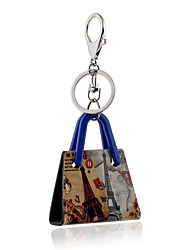 2016 New Arrival Keychain for Keys Acrylic London Big Ben Portachiavi Charms Key Chains Llaves Porte Clef Sleutelhanger