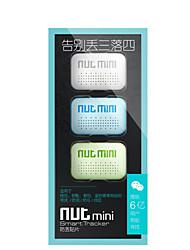 mini-nut 3 Finder inteligente para miúdos pet chave anti perdeu tag Bluetooth GPS Locator Tracker (3pcs)