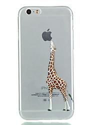 iphone 7 плюс жираф TPU мягкий случай телефона для Iphone 6с 6 плюс 5 как таковые 5s