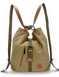 Casual Outdoor Backpack Women Canvas Multi-color