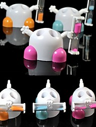 Minutes Hourglass Timer Toothbrush Holder Rack Stand Cute Bathroom Tool for  the supervision of children(Random Color)