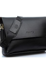 Men PU Messenger Shoulder Bag / Laptop Bag / Carry-on Bag / Boarding Case/Cabin Case - Brown / Black