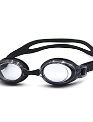 Unisex PC Waterproof/Anti-Fog Swimming Goggles