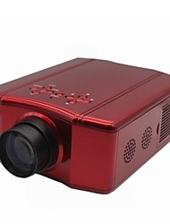 DS86 Portable Mini Mobile LED Projector 150 - Lumens 640 x 480 Resolution with AV / SV / YPRPB / VGA / HDMI / USB