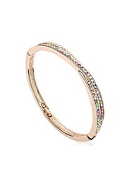 Hot New Charming Lovely Simple Bling Elegant Bracelet Bangle Party Jewelry For Women