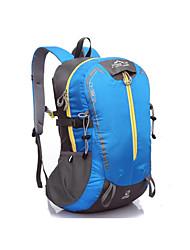40 L Rucksack Legere Sport Outdoor Feuchtigkeitsundurchlässig / tragbar Blau Nylon Fulang