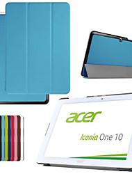 dengpin искусственная кожа таблетки Защитный чехол с подставкой для Acer Iconia один 10 b3-A20 (ассорти цветов)