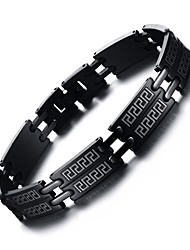 316 titanium staal man armband