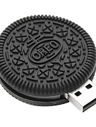 ZPK38 32GB Small Chocolate Cookies USB 2.0 Flash Memory Drive U Stick