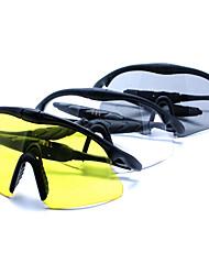 Gafas de Sol hombres's Ligeras / Deportes Aviador Negro Gafas de Sol / Deportes / Protección / Gafas de visión nocturna Media Montura