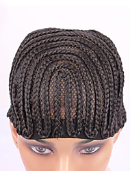 Best Cornrows Wig Cap For Making Wigs Easier Sew Ins Cheap Adjustable Wig Cap Less Stress On Your Natural Hair 1PC