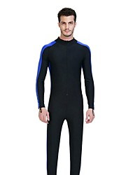 Men Diving Suit UV Swimsuit Conjoined Sun-Protective Clothing Jellyfish Garments Short Sleeve Wetsuit