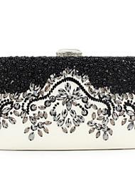2016 New Women Bag  For Party Top Grade Handmade PU Diamante Handbag JF0217006.