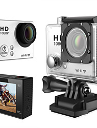 "Adventures HD Sports Action Video Camera 16M 1080p 1.5"" LCD 30m Waterproof Wifi 4x Zoom 150° View with Mount"