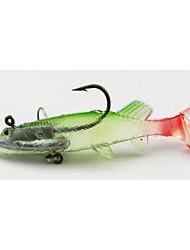 4pcs Lead Soft Baits 120mm 26g Fishing Lure Random Colors