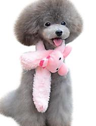 Dog Collars Adjustable/Retractable Pink / Yellow Sponge