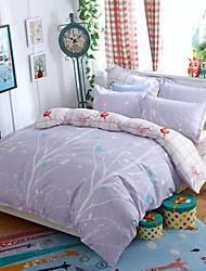 Baolisi AB Edition Printed Version 4 times Pattern For Moringa Series Bedding Four Sets