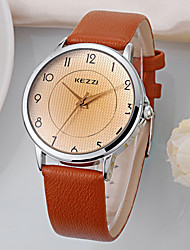 Women's  Fashion  Simplicity  Creative Quartz  Leather Lady Watch Cool Watches Unique Watches