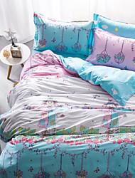 Fashion Cartoon Queen Size 1pc Comforter case+2pcs Pillow Sham+1pcs Bedsheet Bedding Set