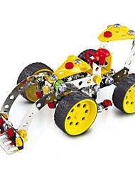 Пазлы 3D пазлы / Металлические пазлы Строительные блоки DIY игрушки Автомобиль 146 Металл Серебристый / Белый / РозовыйМодели и
